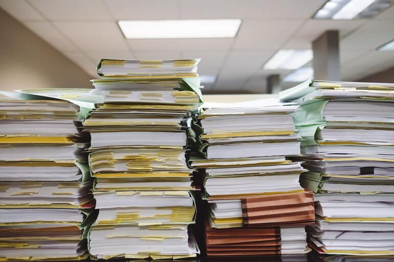 Damit Sie ein papierlosen Büro erhalten ist es wichtig alle Dokumente zu digitalisieren.